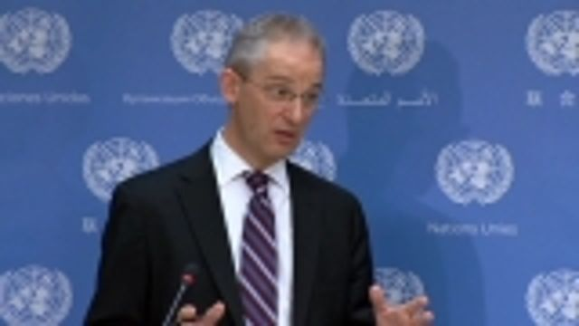 News video: U.N. rejects suggestion it's pulling out of Syria to allow strikes